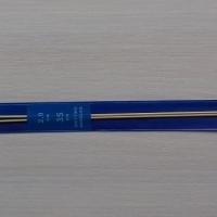 Спицы прямые бамбуковые 35 см 2.0-4.0 мм (Спицы прямые бамбуковые 2,0 мм)