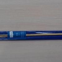 Спицы прямые бамбуковые 35 см 2.0-4.0 мм (Спицы прямые бамбуковые 2,5 мм)