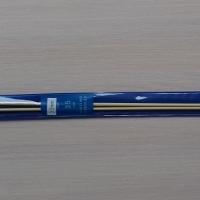 Спицы прямые бамбуковые 35 см 2.0-4.0 мм (Спицы прямые бамбуковые 3,5 мм)