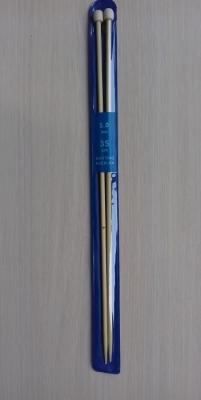Спицы прямые бамбуковые 35 см 5-6 мм