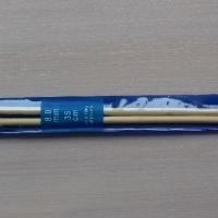 Спицы прямые бамбуковые 35 см 8,0-10,0 мм (Спицы прямые бамбуковые 8,0 мм)