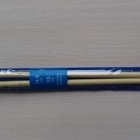 Спицы прямые бамбуковые 35 см 8,0-10,0 мм (Спицы прямые бамбуковые 10,0 мм)