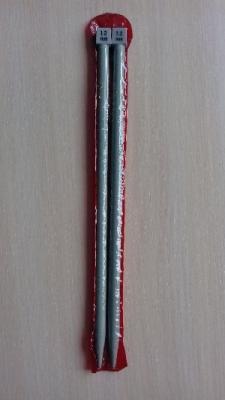 Спицы прямые тефлоновые 12 мм