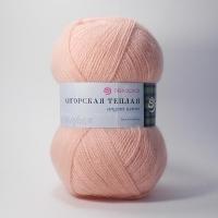 Пряжа Пехорка Ангорская теплая (265 розовый персик)