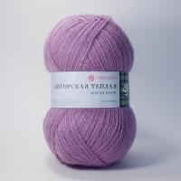 Пряжа Пехорка Ангорская теплая (29 розовая сирень)