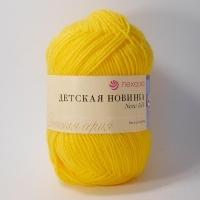 Пряжа Пехорка Детская новинка (12 желтый)