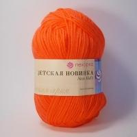 Пряжа Пехорка Детская новинка (284 оранжевый)