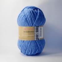 Пряжа Пехорка Осенняя (520 голубая пролеска)