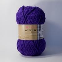 Пряжа Пехорка Осенняя (78 фиолетовый)