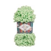 Пряжа Ализе Пуффи Файн (516 пастельно-зеленый)