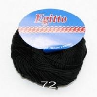 Пряжа Egitto (72 черный)