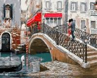 Картина по номерам GX 8363 Венецианский мостик Ричарда Макнейла 40*50