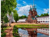 Картина по номерам GX 27176 Николо-Сольбинский монастырь 40*50