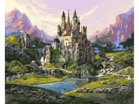 Картина по номерам GX 24257 Замок в горах 40*50