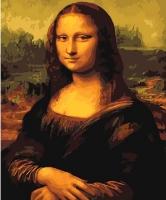 Картина по номерам G 241 Мона Лиза Леонардо Да Винчи 40*50