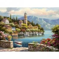 Мозаика из страз А-1479 Набережная 36х26 см