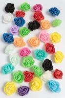Головки цветов Роза мелкая 35 мм, SF-2098, ассорти