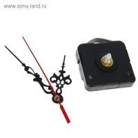 Часовой механизм с подвесом и витыми стрелками, 12х18 см микс