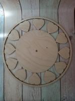 Деревянная заготовка основа для часов
