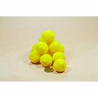 Помпоны 3 см №5 желтые