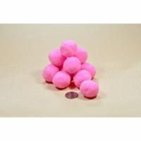 Помпоны 3 см №2 розовые