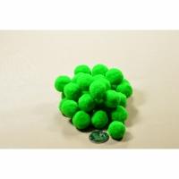Помпоны 2 см №19 зеленый