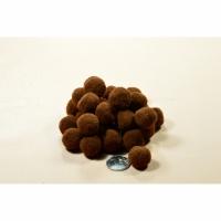Помпоны 2 см №17 коричневый