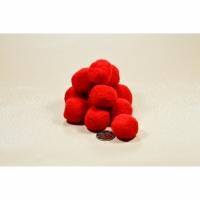 Помпоны 3 см №1 красные